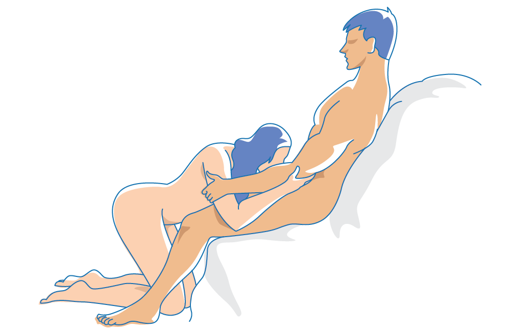 Head spinner sex position